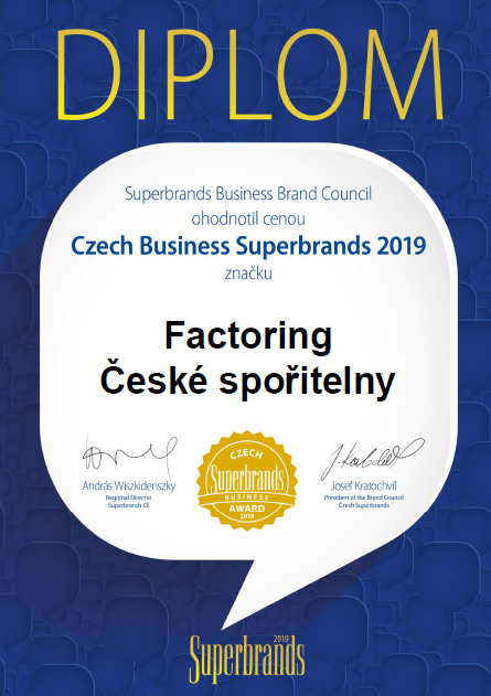 Czech Business Superbrands 2019